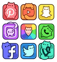 Important facts about this wonderful sticker collection:♡ Each sticker measures x Printed on durable, high-quality matte vinyl♡ Weatherproof & waterproof - great for laptops, cars, water bottles, etc. App Drawings, Cute Food Drawings, Cute Animal Drawings Kawaii, Cute Disney Drawings, Food Drawing Easy, Cute Kawaii Animals, Arte Do Kawaii, Kawaii Art, Kawaii Doodles