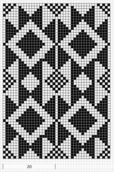 Discover thousands of images about Mustrilaegas: AA Kirjatud kudumid / Patterned knits Tapestry Crochet Patterns, Crochet Motifs, Bead Loom Patterns, Tunisian Crochet, Crochet Chart, Beading Patterns, Cross Stitch Patterns, Crochet Gratis, Free Crochet