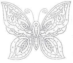 A Bobbin Lace Lover: Patrones de mariposas