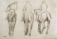 jockeys  Degas