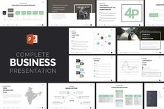 Business Powerpoint Presentation by Zacomic Studios on @creativemarket