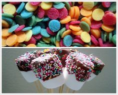 Marshmallow-Pops (von der Tassenkuchen - Bäckerei)