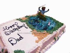 Coolest Fishermen Cake Fisherman cake Birthday cakes and Homemade