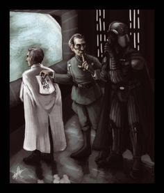 I used to like Grand Moff Tarkin, until I watched Rogue One. Now I realize he is just a jack with a cool outfit and accent.