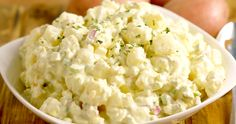 This Best Potato Salad Recipe is creamy and flavorful with just the right amount of spicy. I never even liked potato salad until I tried this recipe!