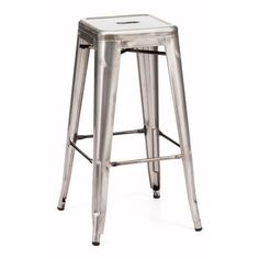 Marius Bar Chair Gunmetal