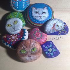 Miscellanea di gatti ..e non solo #gatti #gatto #cat #cats #cuccioli #gattini #instacat #instacatsphoto #instacatslover #instaphoto #instadaily #instagood #instalove #catslover #animallovers #Mandala #instanature #naturelover #natureart #arte #pietredipinte #sassidipinti #paintedstones #followme #mavvyy