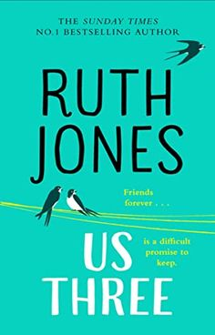 Good books come to those who read: Us Three By Ruth Jones Friendship Over, Female Friendship, Book Club Books, Books To Read, Novels About Life, Ruth Jones, Dawn French, Gavin And Stacey, Types Of Books