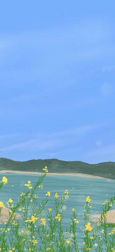 Cute Pastel Wallpaper, Cute Patterns Wallpaper, Soft Wallpaper, Flower Phone Wallpaper, Wallpaper Space, Aesthetic Pastel Wallpaper, Iphone Background Wallpaper, Painting Wallpaper, Aesthetic Backgrounds