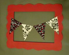 Custom Mix and Match Valentines Day Fabric Flag by ThePartyOrchard, $20.00