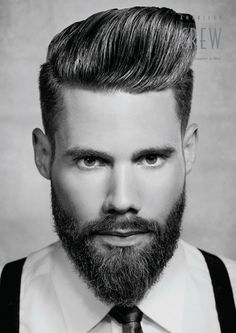 Beard: #2 cheeks and sides, blended with clippers and a flattop comb to a long chin.