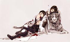MGA: Capítulo 158 – Técnica Sacrificadora Tigre Blanco   Scarlett Translations