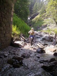 Percorso trial/motoalpinismo autorizzato in Alta Val Chisone