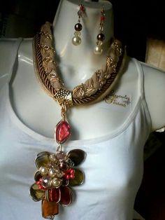 Rope Necklace, Jewerly, Wire, Photos, Ideas, Fashion, Necklaces, Moda, Jewlery