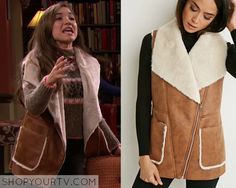 Girl Meets World: Season 2 Episode 25 Riley's Tan Fur Vest