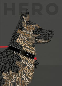 """Beautiful """"With careful attention to deta."""" metal poster created by Dominique Vari. Our Displate metal prints will make your walls awesome. Word Drawings, Boys Day, Big Friends, Man And Dog, Animal Quotes, Simple Art, Graphic Design Typography, Print Artist, Cool Artwork"""