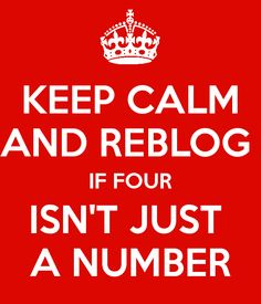 Four. <4 Tobias <4 only we will understand<<<uhhhh not just the divergent fandom understands. So does the Lorien legacies fandom. And we have it worse. All the numbers and half of us refuse to believe five is a number because he is a traitor. So yeah.
