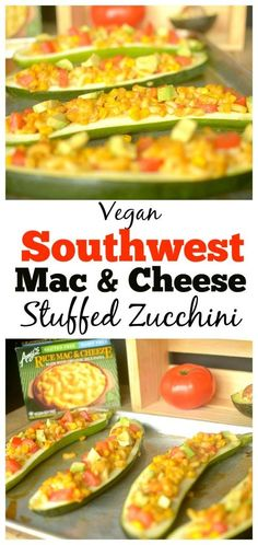 Southwest Mac & Cheeze Stuffed Zucchini is a delicious, hearty and kid-friendly dinner that will please kids and adults-alike! Also vegan and…