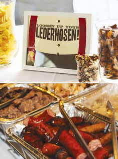 Clever 30th Backyard Beer Tasting Party // Hostess with the Mostess®