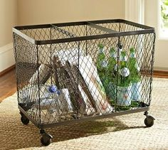 Kendall Wire Recycling Bin traditional waste baskets Would like a single for in my kitchen