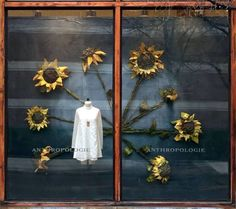 "ANTHROPOLOGIE,USA, ""The flower doesn't dream of the bee. It blossoms and the bee comes"", pinned by Ton van der Veer"