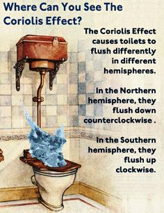 Where Can You See The Coriolis Effect?