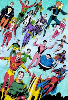 1972: THE LEGION OF SUPER-HEROES. After gaining back some popularity in 1972 when artist Dave Cockrum and writer Cary Bates took over the creative duties of the Legion leading them to their own limited series titled The Legion Of Super-Heroes. In 1973, a few years later the title once more becomes Superboy and the Legion of Super-Heroes with writer Paul Levitz and artist James Sherman leading the way.