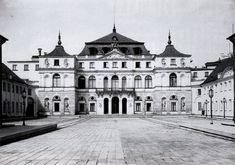 Pałac Bruhla w 1939