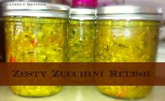 Canned - Zucchini Relish I was blown away by how amazing this Zucchini Relish was Read more at http://heavenlysavings.net/2013/10/canned-zucchini-relish/#IvpxHEzRwmM49FJ3.99