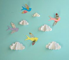 paper art for wall - Google Search
