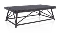 Calistoga Coffee Table | Crate and Barrel  $350 grill seating area