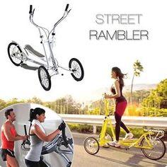 STREET RAMBLER - Vélo élliptique d'interieur et d'exterieur