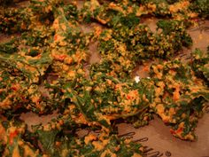 I love kale chips and here's my recipe with a visual guide below PrintCheezy Kale Chips (raw, vegan, gluten-free) Prep Time: 10 minutesCook Time: 4 hoursTotal Time: 4 hours, 10 minutes Ingredients:1 c cashews (soaked for a few hours) 1 red bell pepper (de-seeded) 2 Tbsp Lemon Juice (juice of 1/2 a lemon) 3 Tbsp …