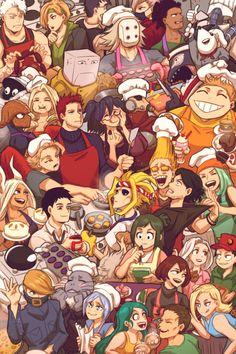 my hero academia Boku No Hero Academia Funny, My Hero Academia Episodes, My Hero Academia Memes, Hero Academia Characters, My Hero Academia Manga, Boku No Academia, Buko No Hero Academia, Hero Wallpaper, Cute Anime Wallpaper
