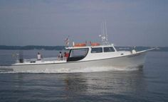 Go rockfishing on a charter boat on the Chesapeake Bay!