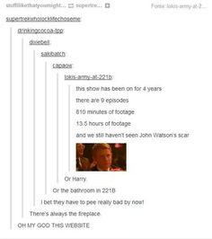 I really do want to see John's scar tho :/