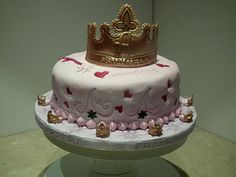 A birthday cake fit for a princess from Bianchi Bakery :-)