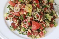heirloom tomato and millet tabouleh (gf/v)