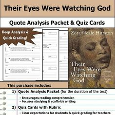 I need help writing topic sentenses for this thesis on Their Eyes Were Watching God?