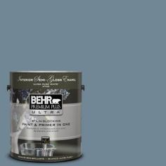 BEHR Premium Plus Ultra Home Decorators Collection 1-gal. #HDC-AC-24 Lyric Blue Semi-Gloss Enamel Interior Paint 375301 at The Home Depot - Mobile