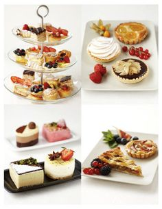 Assorted Dessert Buffet Display