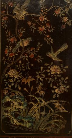 Fine 18th Century Chinese Painted Eight-Panel Screen