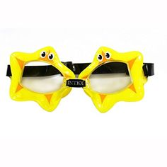 Intex Fun Kids Goggles Yellow Starfish ** Click image to review more details.Note:It is affiliate link to Amazon.