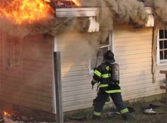 Firefighter Training Drill: Fast and Effective Use of Horizontal Ventilation