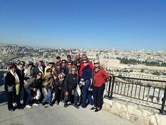 Amigos a Bordo em Jerusalém