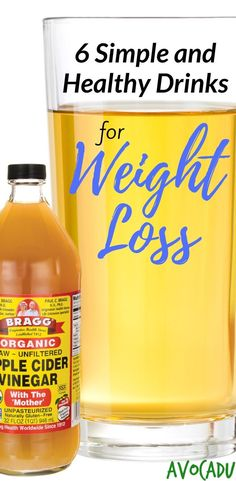 Healthy drinks for weight loss | Lose weight fast with these diet drinks | http://avocadu.com/healthy-drinks-for-weight-loss/