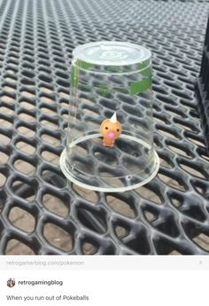 When you run out of pokeballs