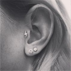Updated ear: Tragus, Double Lobe.