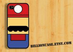 Super  Mario Parody -  iPhone 5 4 / 4s Galaxy Case Hard Plastic Case Rubber Case. $15.99, via Etsy.