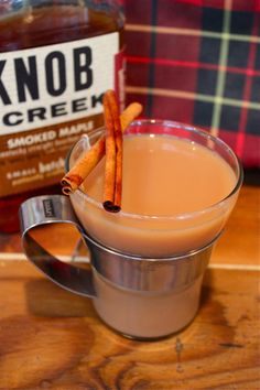 Fall Camping Cocktail Recipe: Smoked Maple Bourbon Chai Tea Toddy The 10-Minute Happy Hour